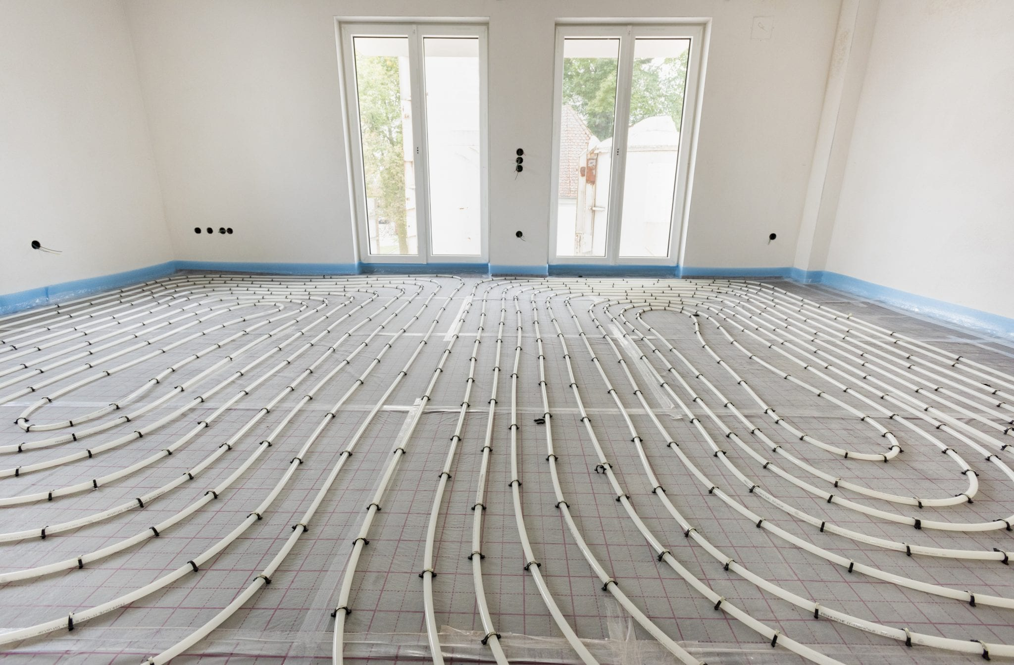 Underfloor heating installed in Leeds, Roundhay by specialist plumbers